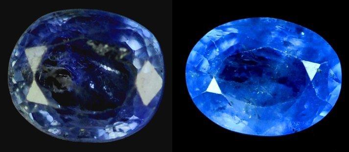 7324: 2.24  cts~Natural UNHEAT SAPPHIRE  blue