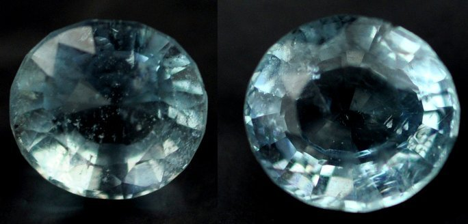 7339: 3.44  Rare Natural acuamarine from Brazil ~