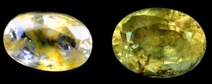 7344: 2.64 cts~Natural UNHEAT SAPPHIRE  yellow