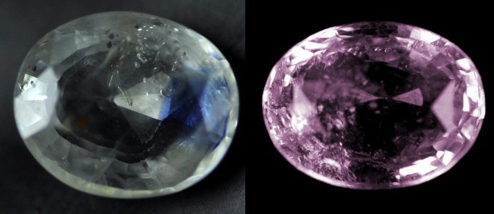 7348: 3.45  cts~Natural UNHEAT SAPPHIRE pink