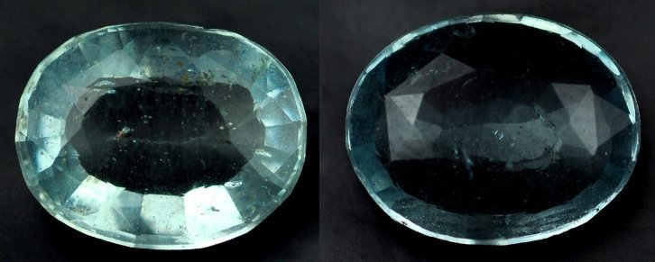 7351: 2.21  Rare Natural acuamarine from Brazil ~