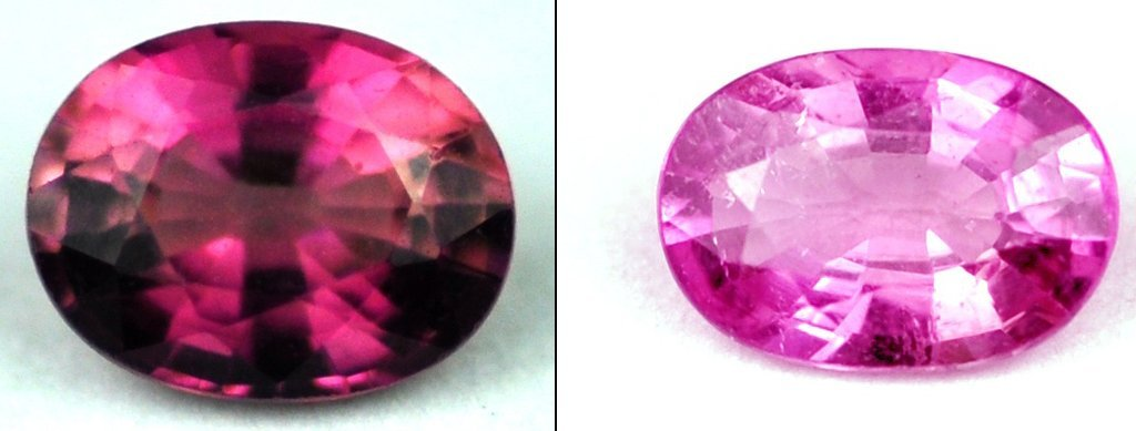 7357: 1.13  cts~ Natural hot  pink Tourmaline