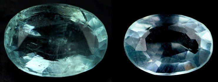 7485: 3.59  Rare Natural acuamarine from Brazil ~