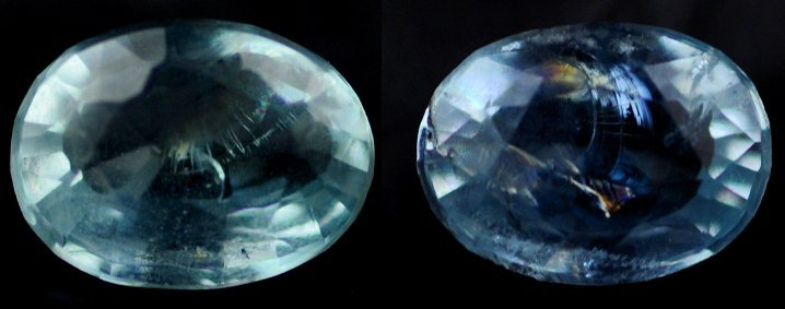 7488: 2.20  Rare Natural acuamarine from Brazil ~