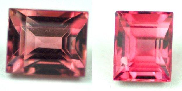 7496: 1.87  cts~ Natural hot  pink Tourmalinew