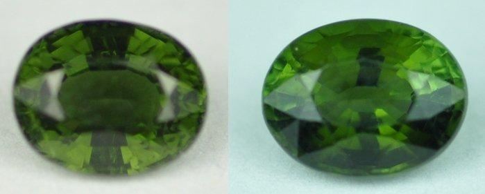 5926: 2.11 cts~ Natural hot  green Tourmaline