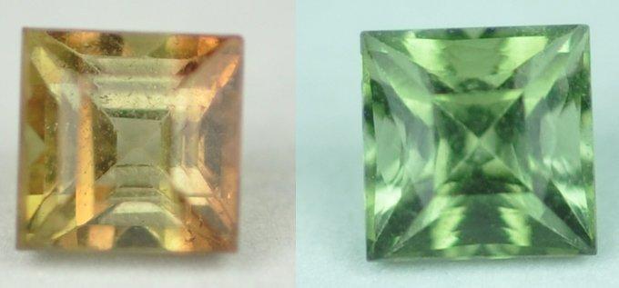 5947: 1.07 cts~ Natural hot  green Tourmaline
