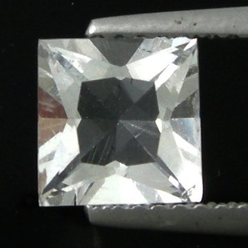 231: 1.47cts~Wow Pure White Diamond Like Pollucite
