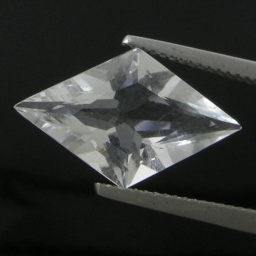 253: 3.67cts~Wow Pure White Diamond Like Pollucite