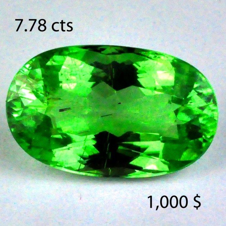 25: 18.99 cts~ Natural hot  GREEN Tourmaline