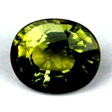 33: 1.10 cts~ Natural hot  green Tourmaline