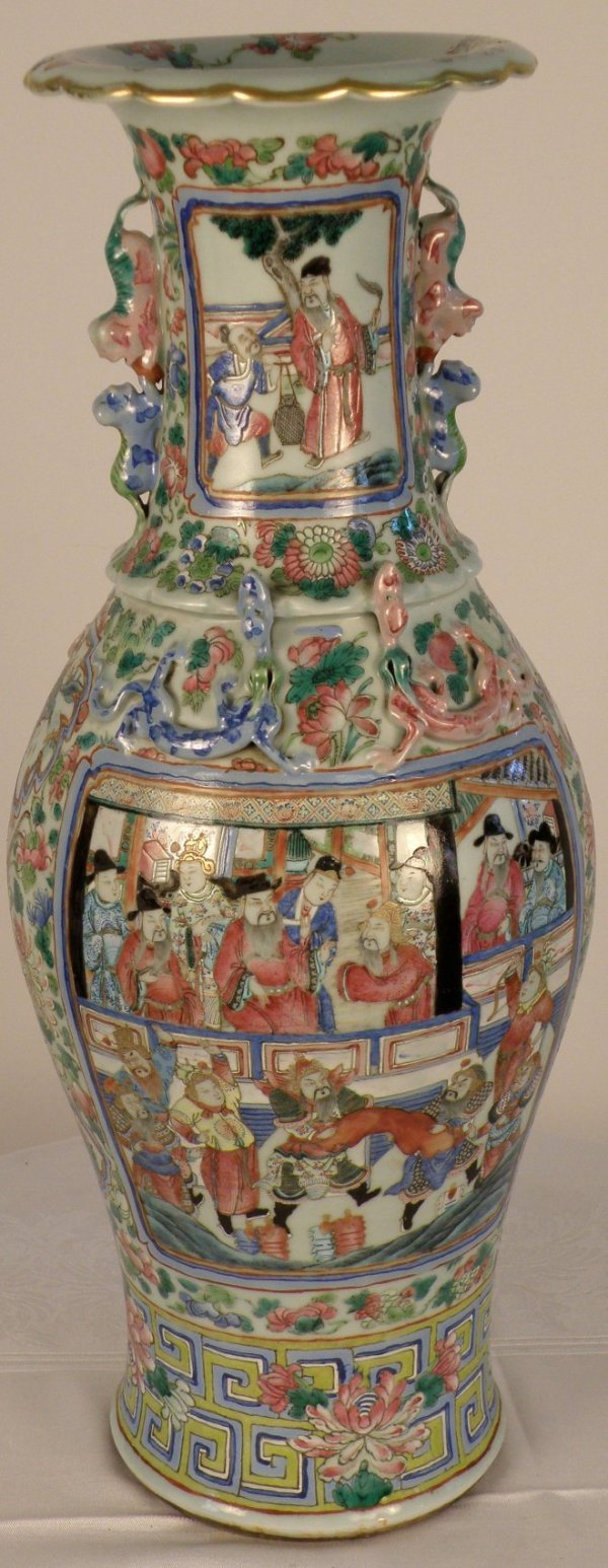11: Chinese Cantonese bluster vase