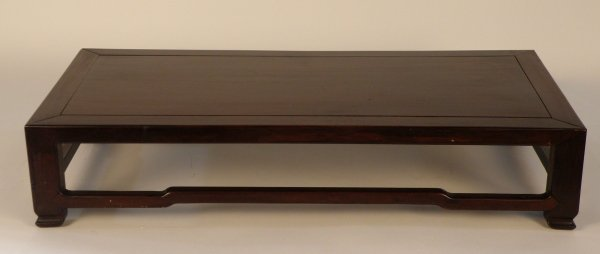 19: A Chinese hardwood small table