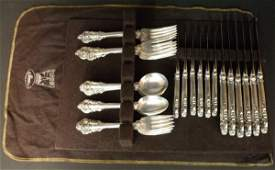 243 Wallace Grand Baroque sterling silver flatware