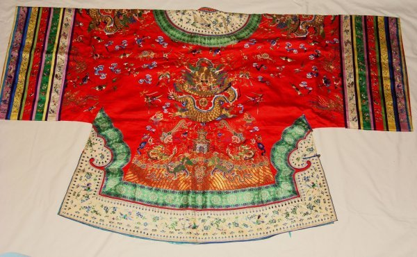 11A: A Chinese Woman's Court Robe