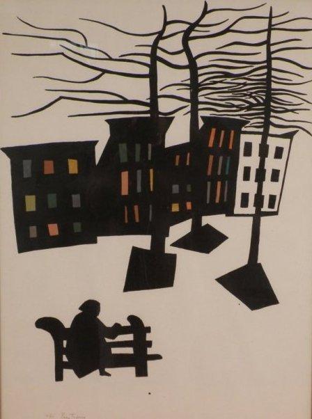 24: Gregorio Prestopino (NY, 1907-1984)