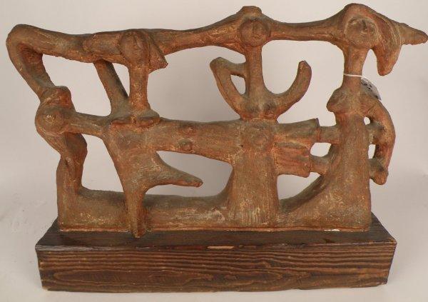 "3: H. Geber (20th C) ""Composition Sculpture"""