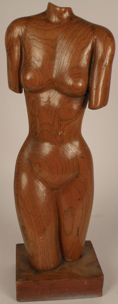 "13: Edward  Armen Stasack (Hawaii 1929), ""Female Torso"""