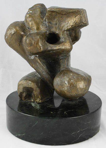 Ernst Neizvestny Russian (1926-) Bronze Sculpture