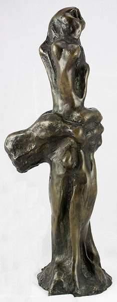 Ernst Neizvestny Russian (1926-) Bronze Female Sc