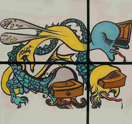 "Salvador Dali ""The Puzzle Of Life"" Litho"