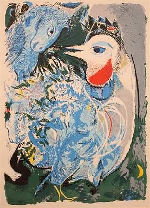 Marc Chagall French Original Litho Centaur Ori