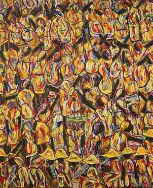 AU Bernadin Haitian Oil on Canvas