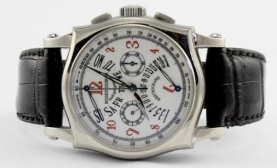 7152: Roger Dubuis 18KT White Gold Watch