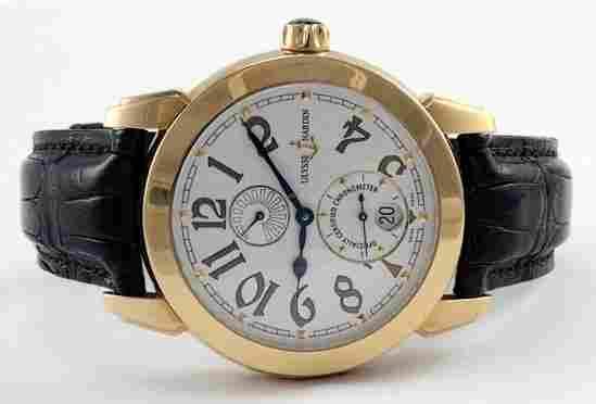 Ulysse Nardin 18 KT Rose Gold Watch