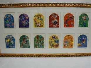 Marc Chagall Jerusalem Windows Suite 12