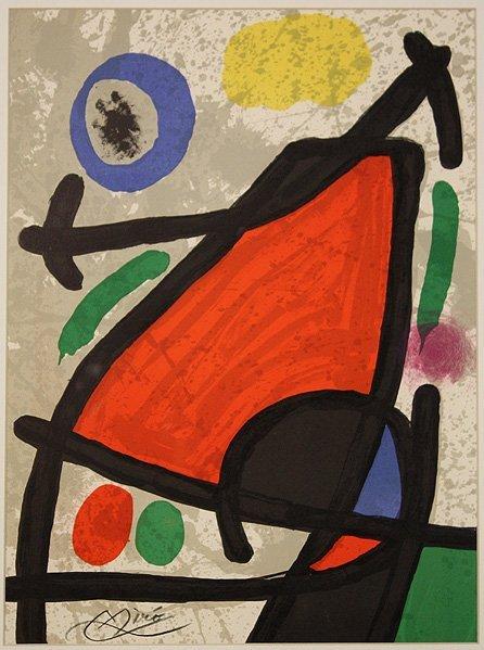 7213: Joan Miro (1893-1983) Original Litho