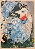 1041: Marc Chagall French Original Litho Centaur Ori