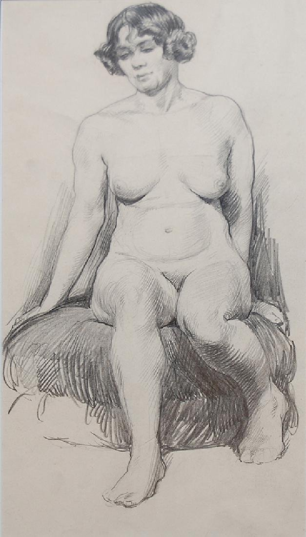 Observation of a Female Nude