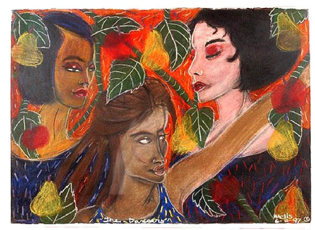 Wells Della (American 1951-); The Dancers