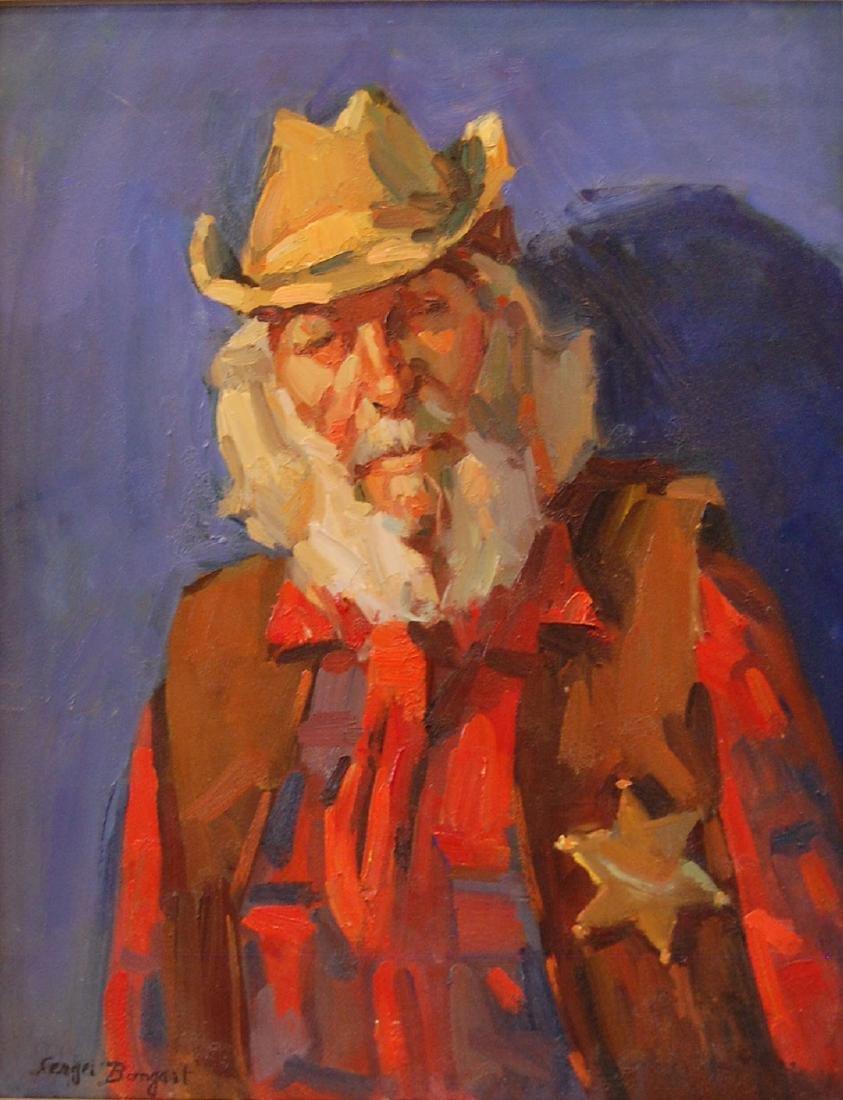 Bongart Sergei (Russian 1918-1985)Portrait of Dzigurski