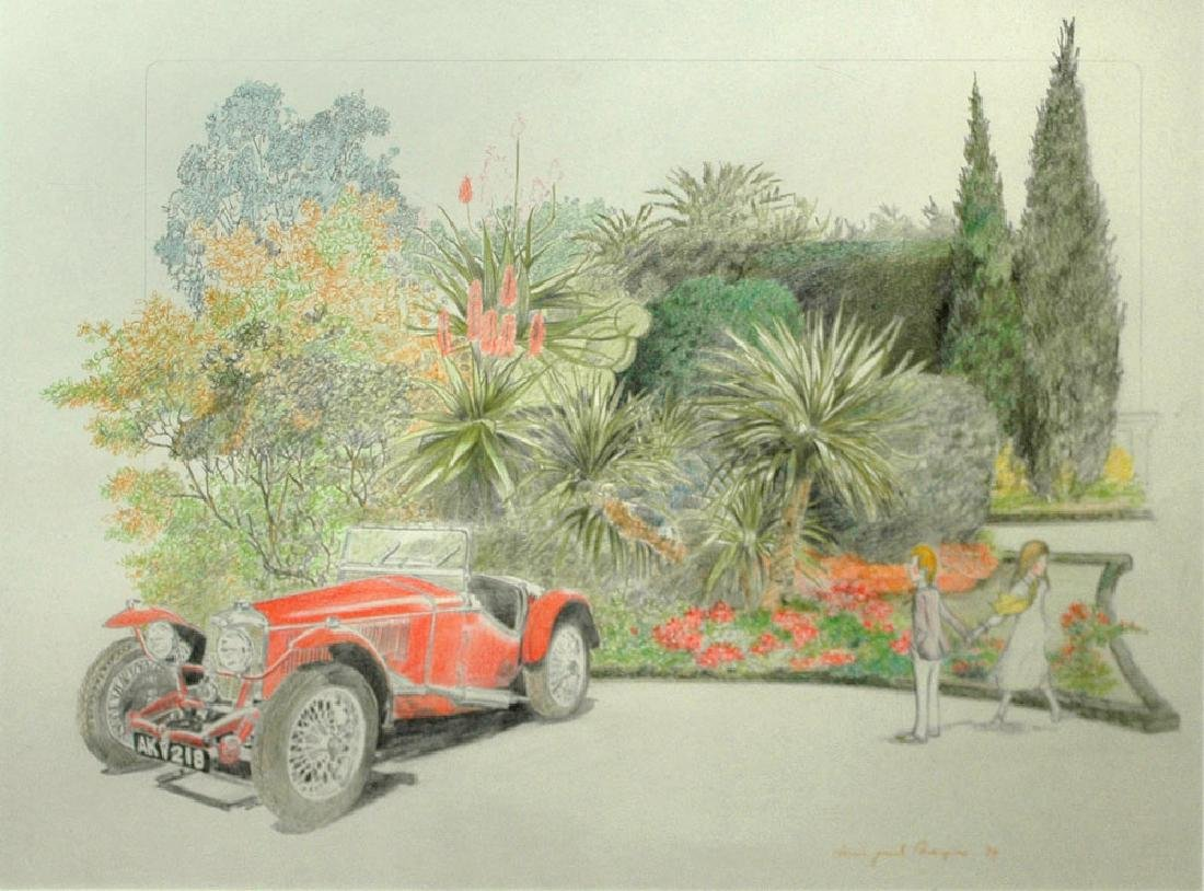 Noyer Paul Denis (French. Born 1940); The Red Car