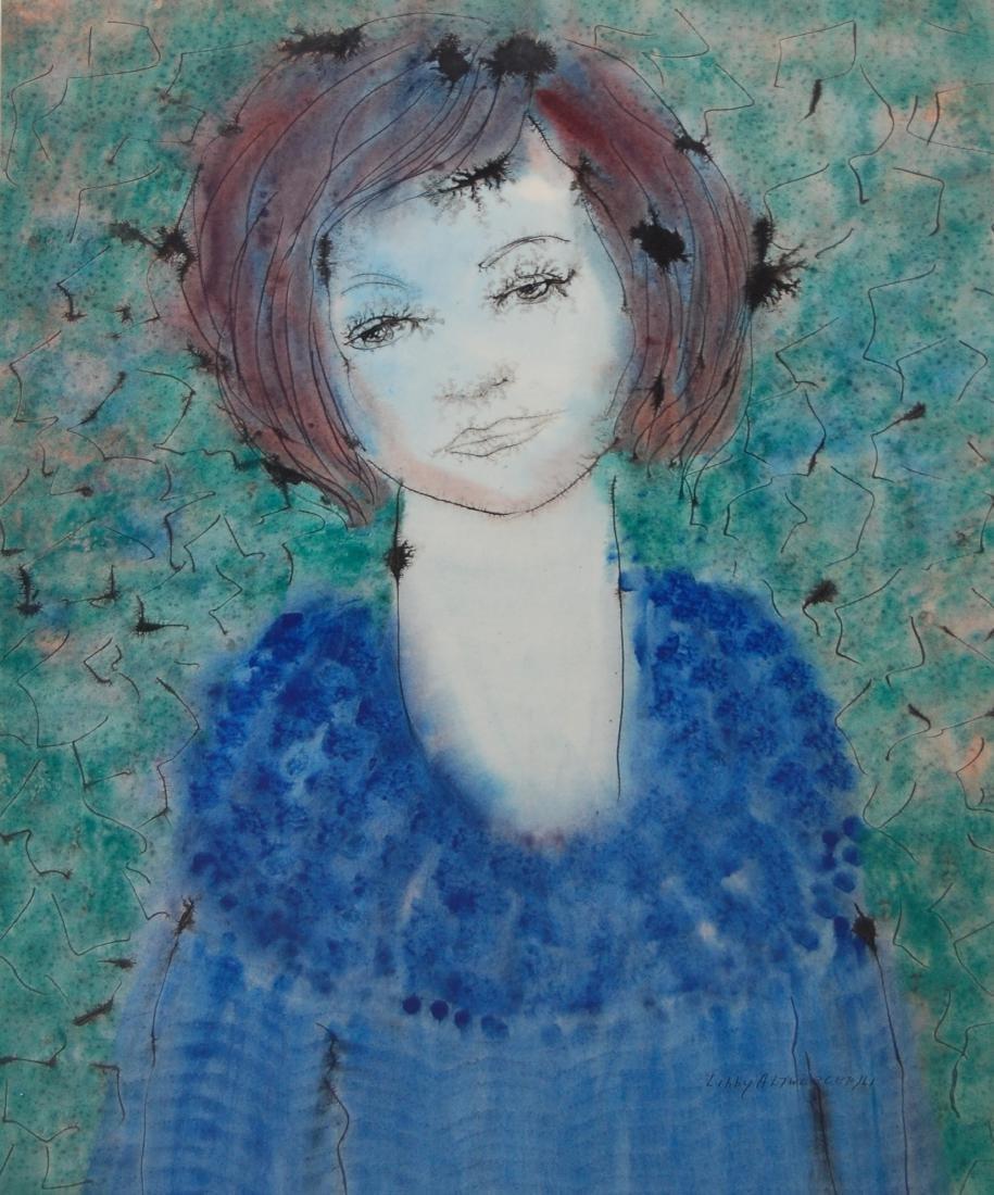 Altwerger Libby (Canadian 1921-1995);Portrait of Sophie