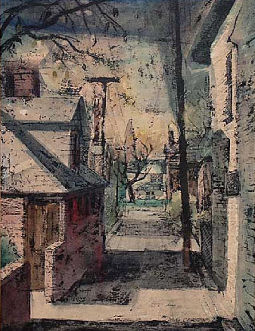 Clark M.G.; Back Alley