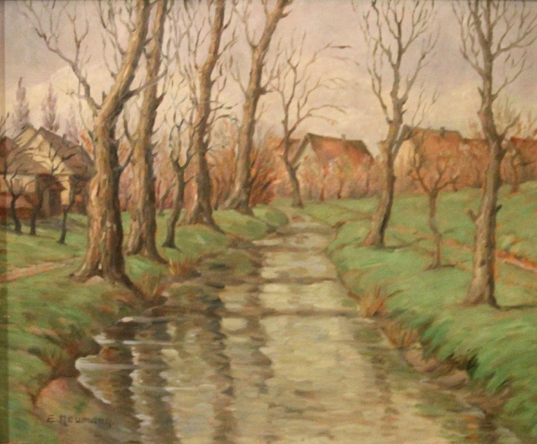 Ernst Neumann (Canadian 1907-1956); River