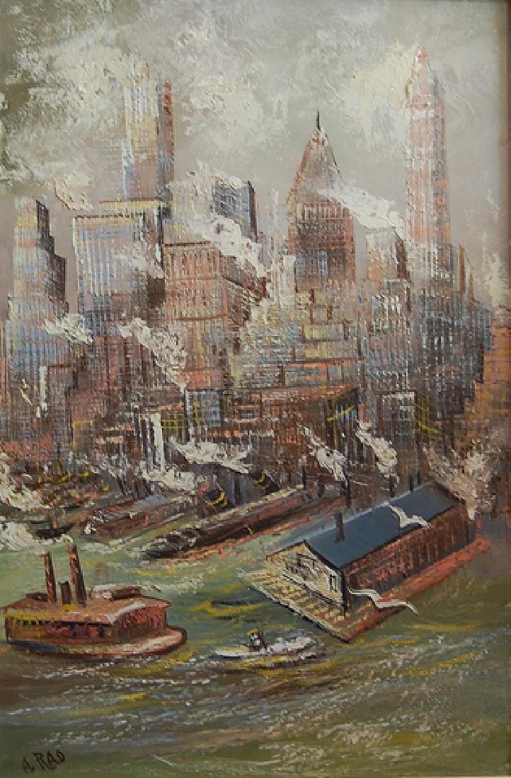 Rao Al (American 20th c); Amsterdam