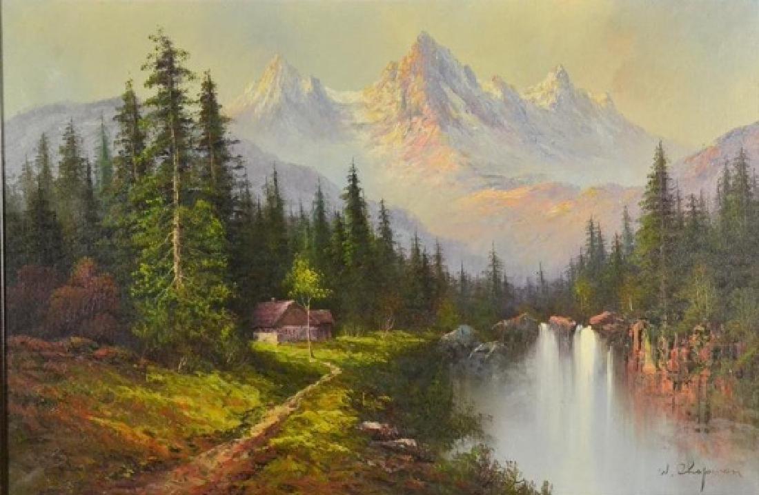 Chapman W; High Sierra