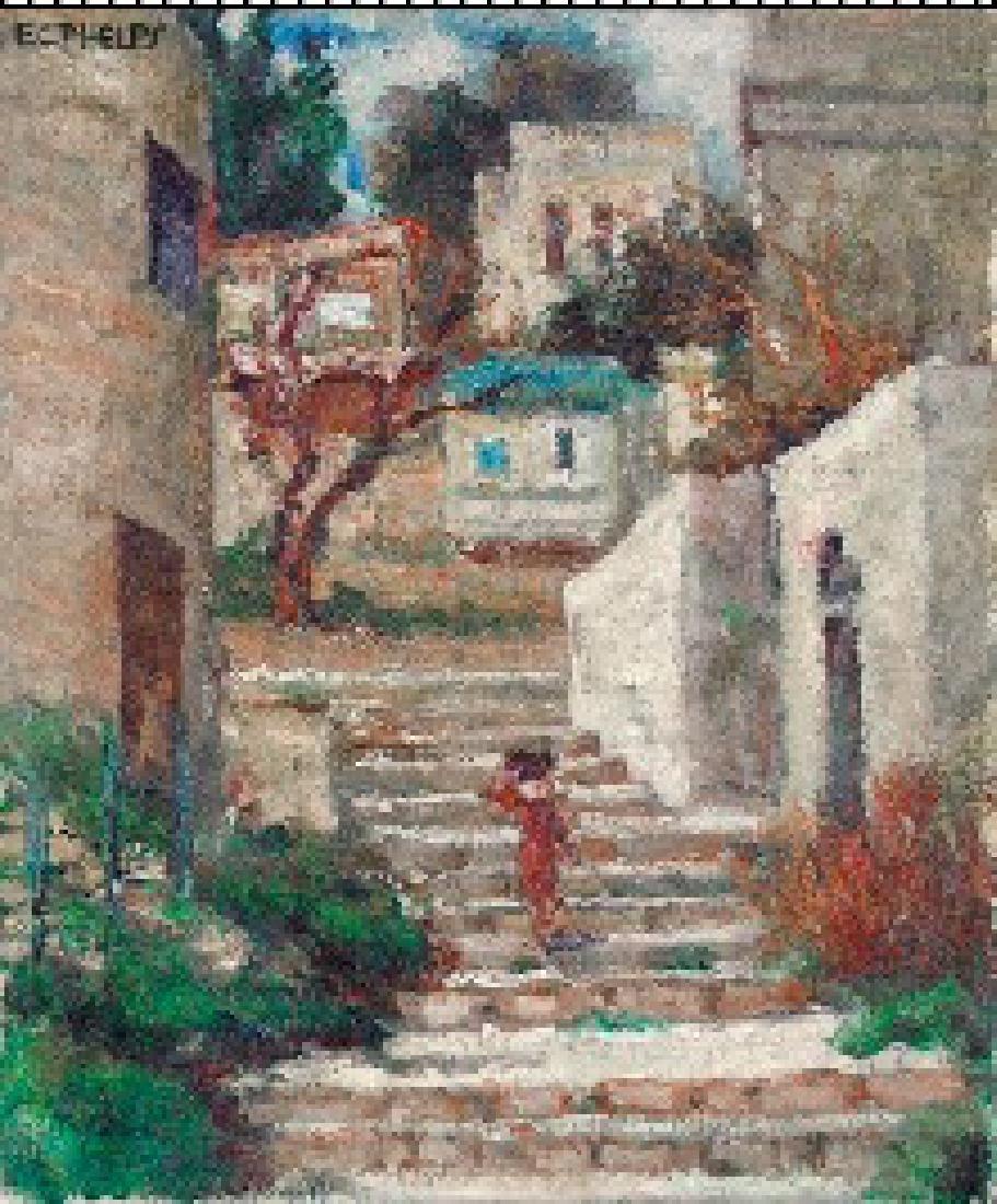 Phelps Edith Catlin (American 1875-1961)