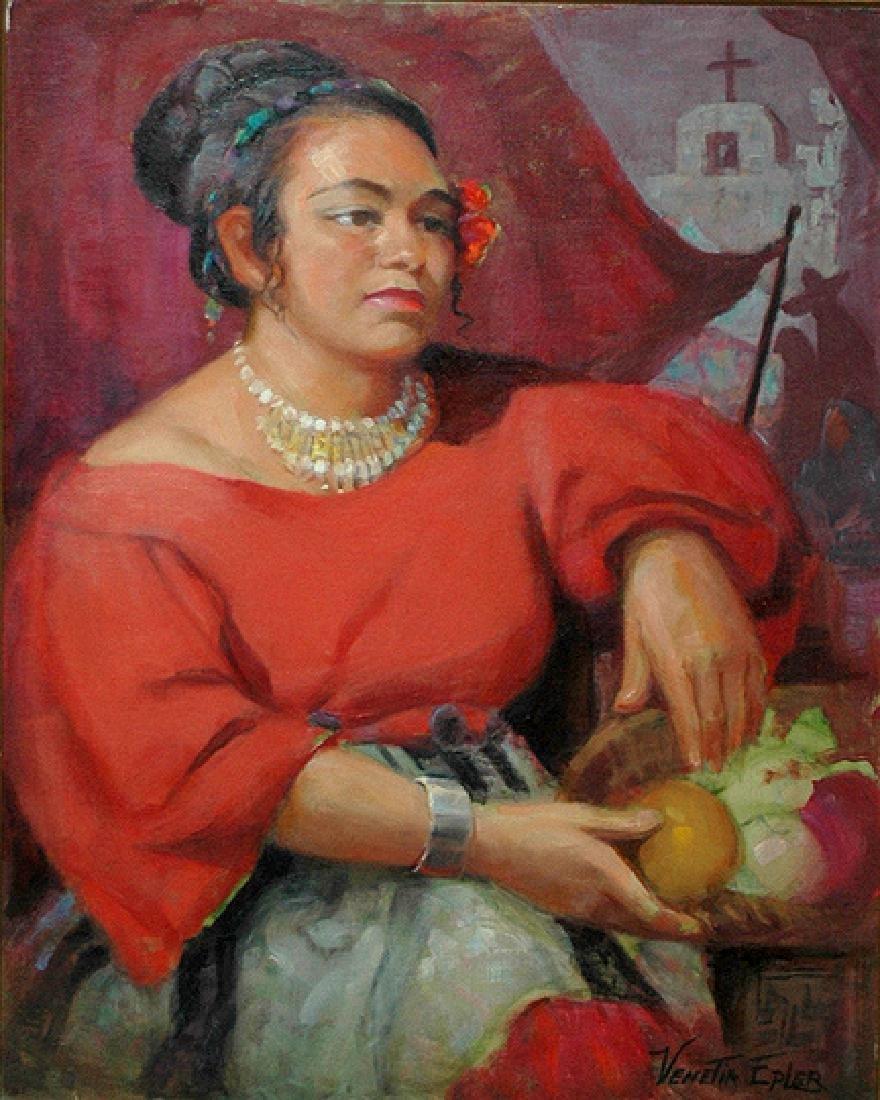 Epler Venetia (American 1926 - 2005)