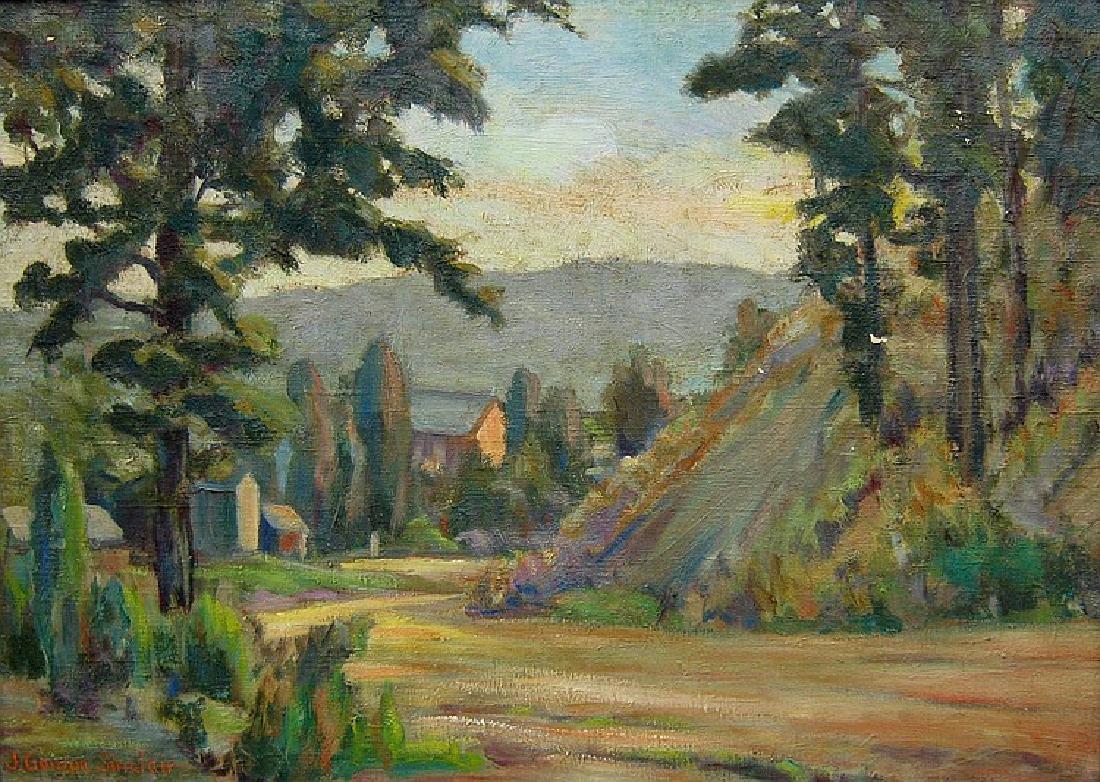 Sinclair John Gordon (Canadian 1889 - 1980)