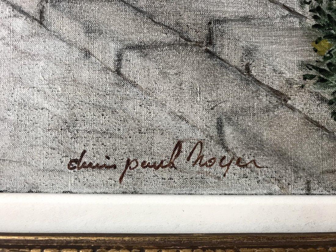 Denis Paul Noyer (French 1940); Mediterranean Courtyard - 6