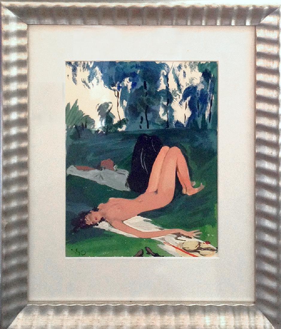 Jean-Gabriel Domergue (French 1889 - 1962);
