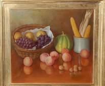 Joseph Gussenhoven (Belgian 1871 - 1953); 23 x 26 in;