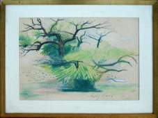 Leyden Louise Hannon (American 1898-1978) The Tree
