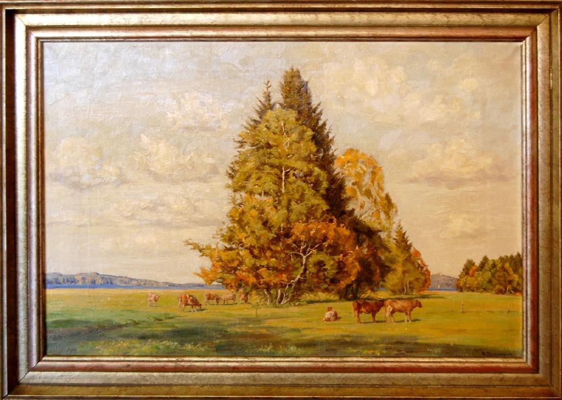 Alfred Thielemann (German 1883 - 1939); 22 in x 33.25