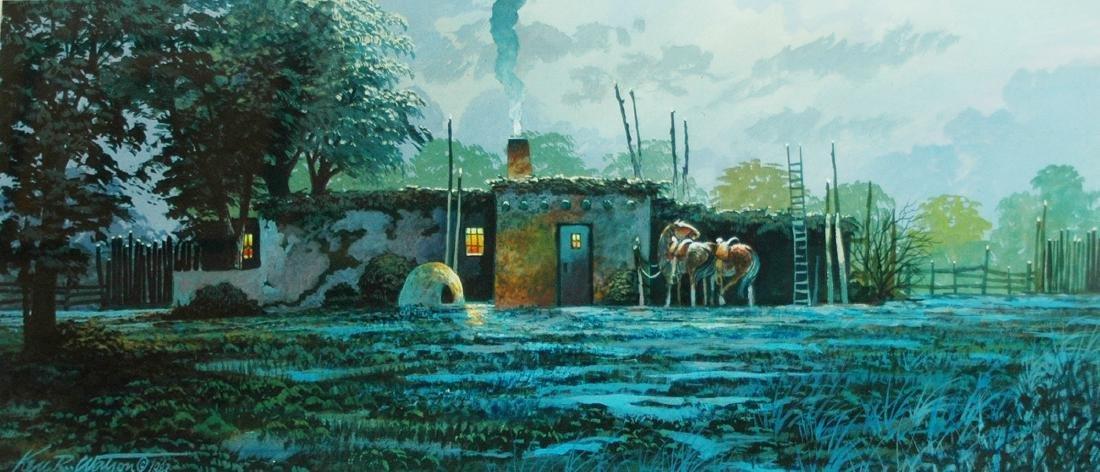 Ken R. Watson (American 1933); Santa Fe Night;